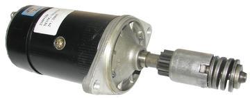 Startmotor  MF T20 12V/ Bensin  Grålle (Lucas) 25038