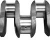Vevaxel  Inkl. vevlager, ramlager och tryckbrickor  ZZ90093