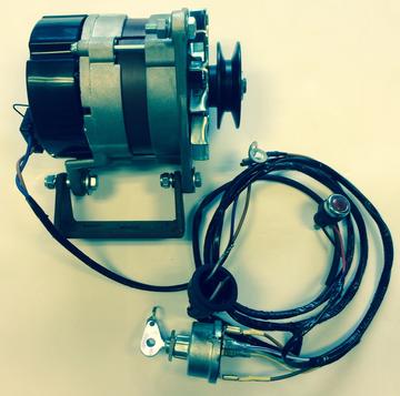Komplett ombyggnadskit till växelström FE 35 4 cyl diesel
