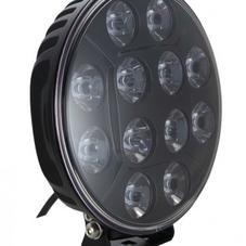 "LED Extraljus 9"" 120W E-godkänd Med Parkeringsljus"