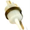 Slangfilter med backventil   6 och 8 mm